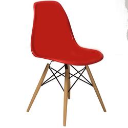 House Line LG-39 Legos Mona Masa Takımı (4 Sandalyeli) - Beyaz/Kırmızı