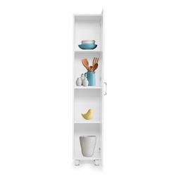 Just Home Avanos Membran Kapaklı Çok Amaçlı Dolap - Beyaz