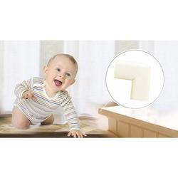 Agubugu Baby AGU-049 Jumbo Kauçuk Kenar ve Köşe Koruyucu (Krem) - 4 Adet