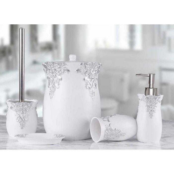 Resim  Selim Dream 5'li Banyo Seti - Beyaz