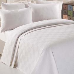 Eponj Home Paint İn Color Tek Kişilik Pike Takımı - Beyaz