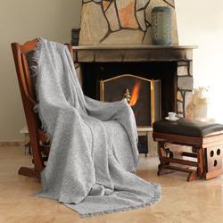 Eponj Home Keten Koltuk Örtüsü (Linen Gri)- 170x220 cm