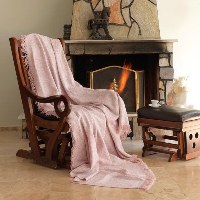 Eponj Home Keten Koltuk Örtüsü (Linen Pudra)- 170x220 cm