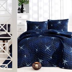 Eponj Home MegaStar Çift Kişilik Yatak Örtüsü Seti - Lacivert