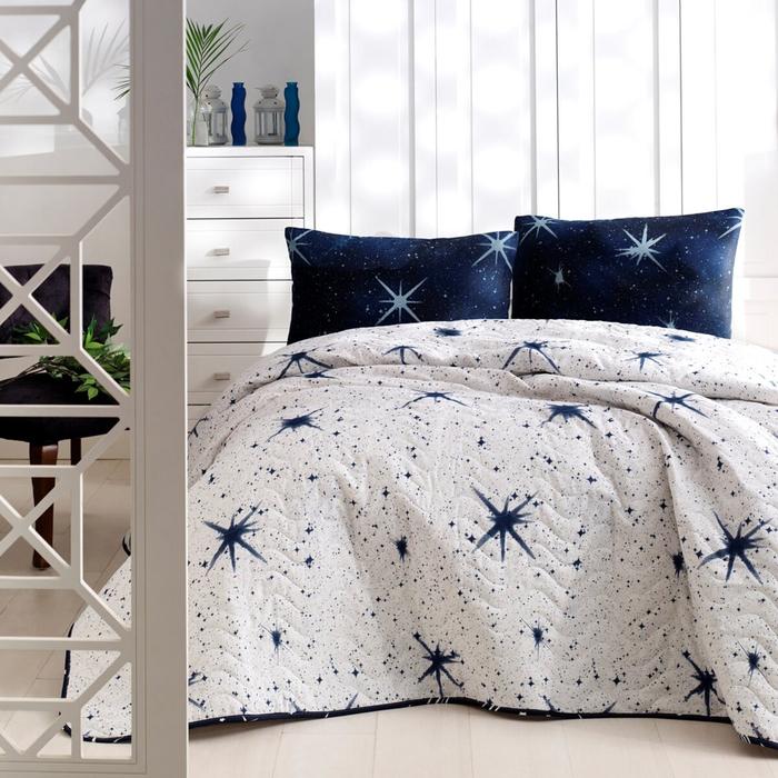Eponj Home MegaStar Tek Kişilik Yatak Örtüsü Seti - Beyaz