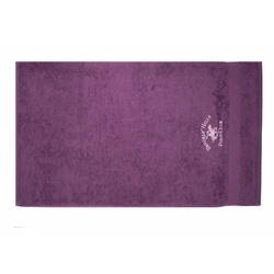 Beverly Hills Polo Club Polo Havlu Seti 50x100(2) Hand&Towel Mix Pembe+Mor