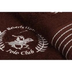 Beverly Hills Polo Club Polo Havlu Seti 50x90cm (2) Hand&Towel 5Çizgili Kahve