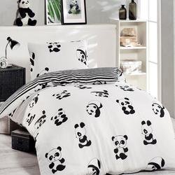 Eponj Home Panda Tek Kişilik Nevresim Seti (Yorgan Hediyeli)
