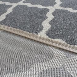 Saray Halı Tuana 011 Dalga Desen Modern Halı (Gri) - 150x230 cm