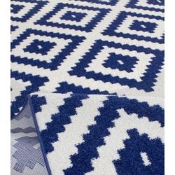 Saray Halı Tuana 012 Mozaik Desen Modern Halı (Lacivert) - 120x170 cm