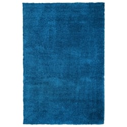 Payidar Mavi Shaggy Halı 9000NM 80x150 cm