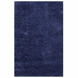 Payidar Koyu Mavi İpek Shaggy Halı 9000NM 80x150 cm