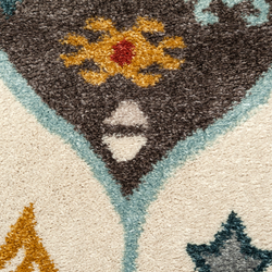 Payidar Etnik G0294 Orak Desen Modern Halı - 120x180 cm