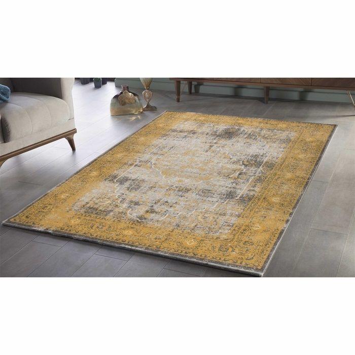 Saray Halı Tarz 023-J00 Söve Desen Halı - 80x150 cm