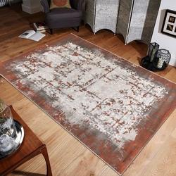 Saray Halı Tarz 021-AS0 80x300 cm Denyum Desen Halı