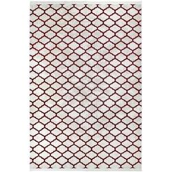 Payidar Vaveyla 1586A 80x150 cm Bordo Duru Desen Modern Halı