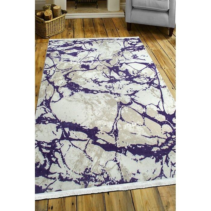 Payidar Vaveyla 4313A 80x150 cm Lila Harmony Desen Modern Halı