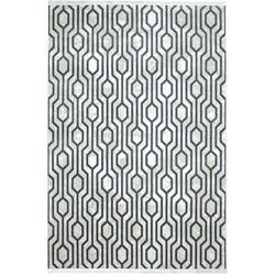 Payidar Vaveyla 1706A 120x170 cm Gri Veux Desen Modern Halı