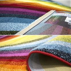 Payidar Roya F134 Gökkuşağı Renkli Modern Halı - 120x180 cm