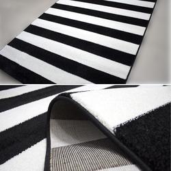 Payidar Roya FB45 Modern Halı (Siyah/Beyaz) - 120x180 cm