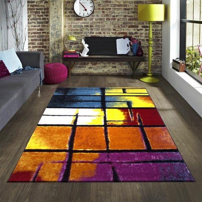 Resim  Payidar Roya Y467 Modern Halı (Renkli) - 120x180 cm
