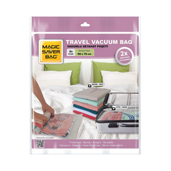 Magic Saver Bag 2'li Vakumlu Seyahat Poşeti - Large