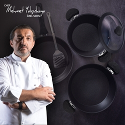 Tivoli Mehmet Şef Serisi Moreno A Plus Derin Tencere - 18 cm