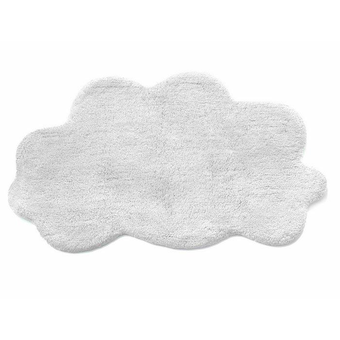 Resim  İrya Cloud Banyo Paspası (Beyaz) - 50x80 cm