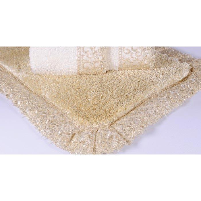 Resim  İrya Dressy Güpürlü Banyo Paspası (Gold) - 70x120 cm
