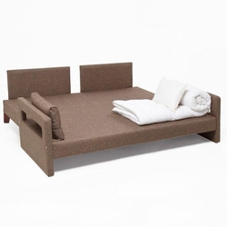 Evdebiz Comfort Yaşam Serisi Yataklı Koltuk Takımı (3+1+1) - Kahve