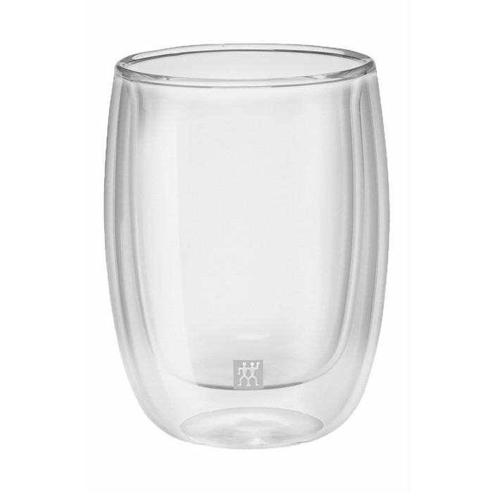 Zwilling Sorrento 2'li Çift Camlı Kahve Bardağı - 200 Ml.