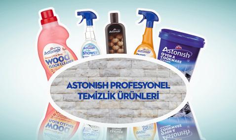 Astonish Profesyonel Temizlik Ürünleri 13,99 TL'den Başlayan Fiyatlarla