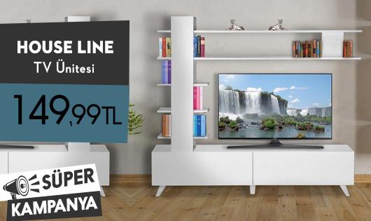 House Line Aleyna Tv Ünitesi 149,99 TL