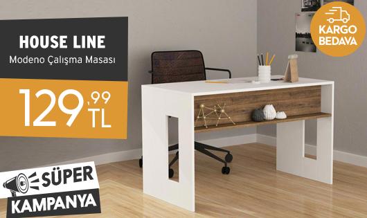 House Line Modeno Çalışma Masası 129,99 TL