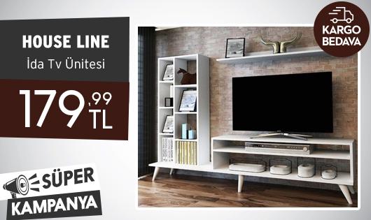 House Line İda Tv Ünitesi 179,99 TL