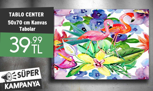 Tablo Center 50x70 cm Kanvas Tablolar 39,99 TL