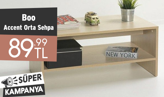 Boo Accent Orta Sehpa 89,99 TL