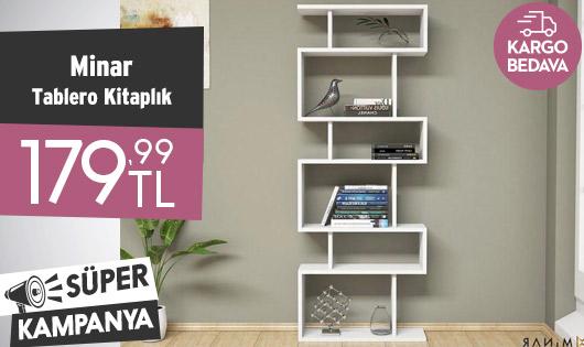 Minar Tablero Kitaplık 179,99 TL