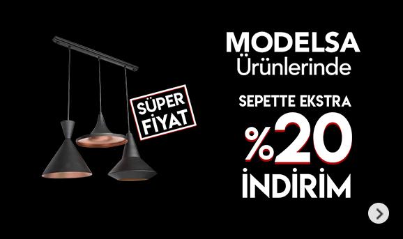 Modelsa Ürünlerinde Sepette %20 İndirim