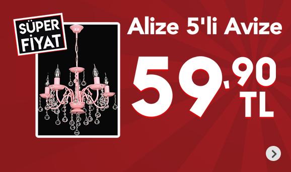 Alize 5'li Avize 59,90 TL