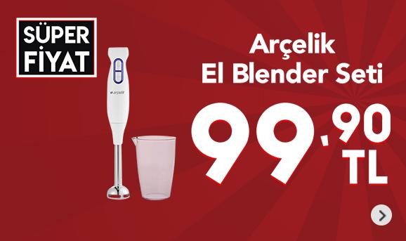 Arçelik K 1251 El Blender Seti 99,90 TL