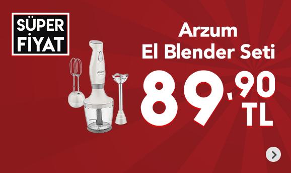 Arzum AR1011 Soppa Plus El Blender Seti 89,90 TL
