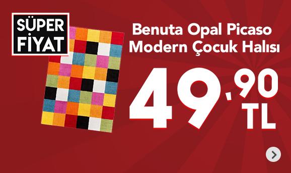 Benuta Opal Picaso Modern Çocuk Halısı 49,90 TL