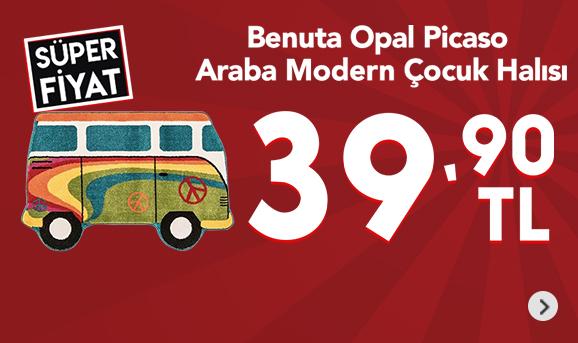 Benuta Opal Picaso Araba Modern Çocuk Halısı 39,90 TL