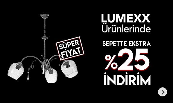 Lumexx Ürünlerinde Sepette %25 İndirim