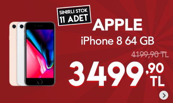 Apple iPhone 8 64 GBCep Telefonu 3499,90 TL