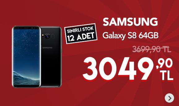 Samsung Galaxy S8 Cep Telefonu 3049,90 TL