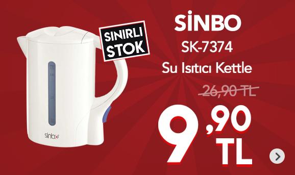 Sinbo SK-7360 Kablolu Su Isıtıcı 9,90 TL