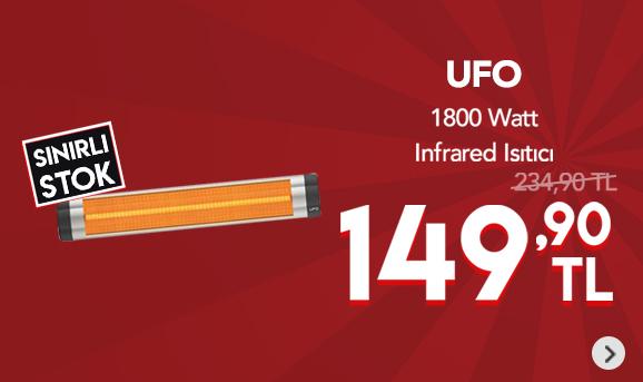 Ufo Star S/18 1800 Watt Infrared Isıtıcı 149,90 TL