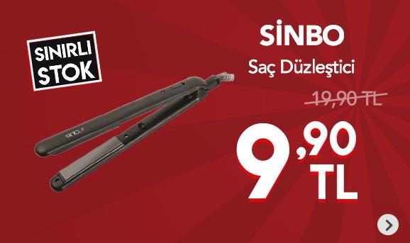 Sinbo Shd-7057 Saç Düzleştirici 9,90 TL
